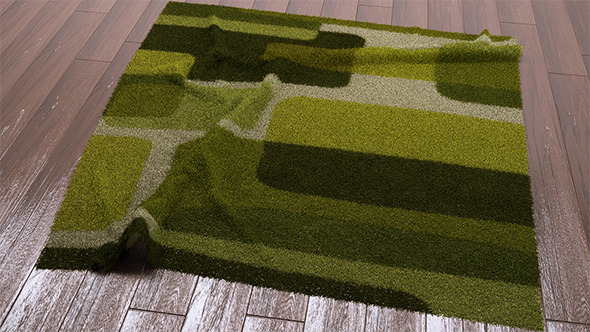 Rugs (VrayC4D / VrayFur) - 3DOcean Item for Sale