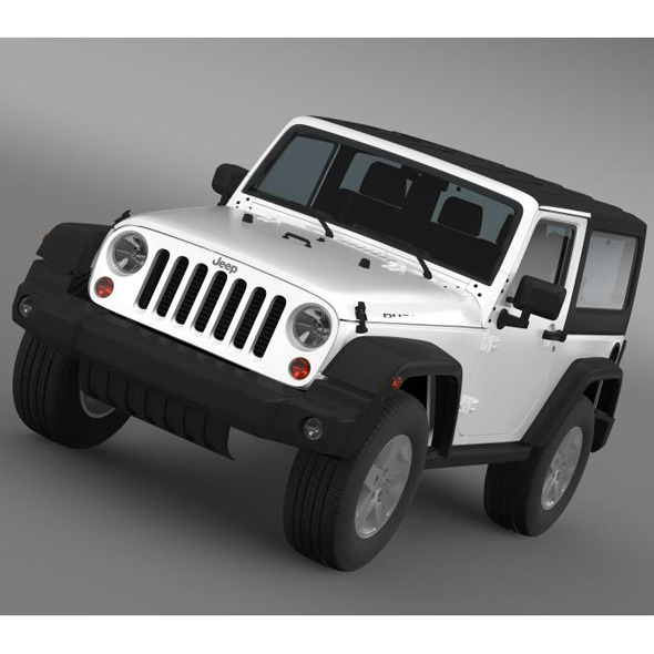 Jeep Wrangler Rubicon 2012 - 3DOcean Item for Sale