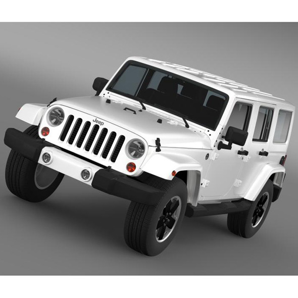 Jeep Wrangler Unlimited Altitude 2012 - 3DOcean Item for Sale