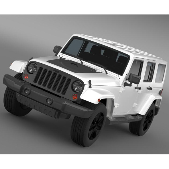 Jeep Wrangler Unlimited Altitude 2014 - 3DOcean Item for Sale