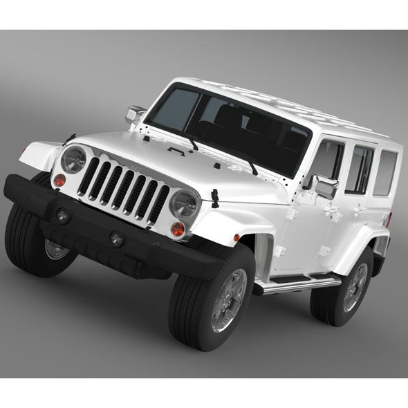 Jeep Wrangler Unlimited ENVI - 3DOcean Item for Sale