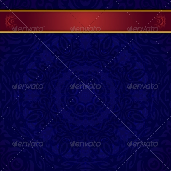 Dark Blue Background for Invitation - Backgrounds Decorative