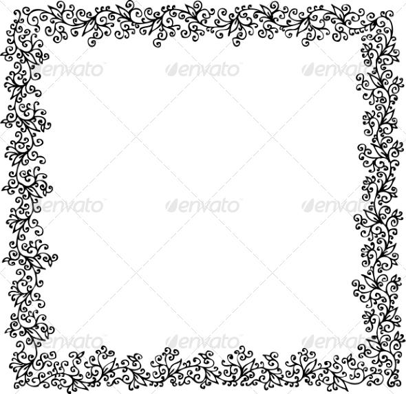 Floral Ornament CCXVIII - Patterns Decorative