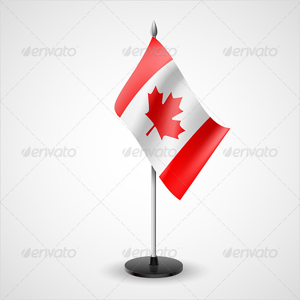 Table Flag of Canada - Miscellaneous Vectors