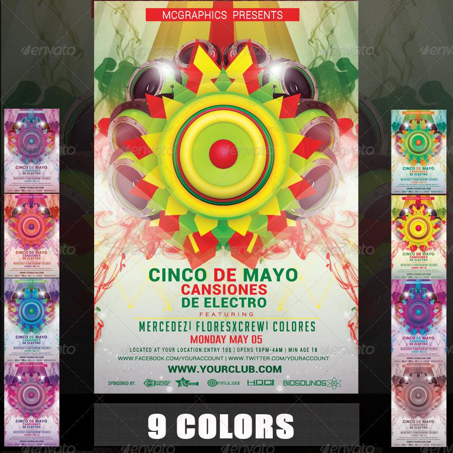 Cinco De Mayo Flyer Template
