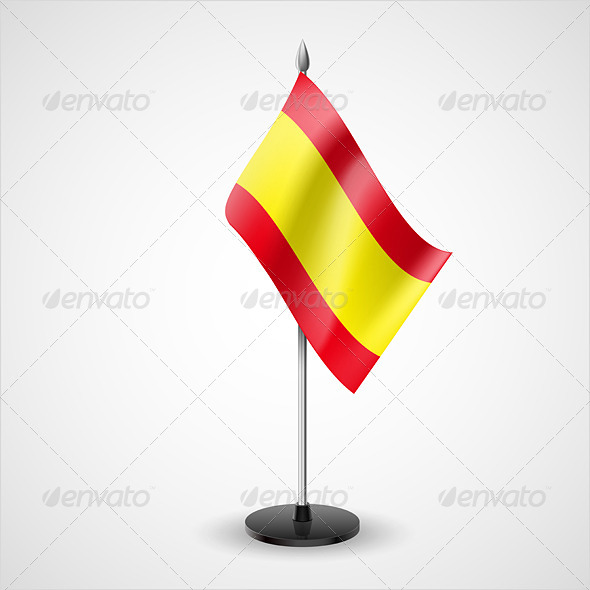 Table Flag of Spain - Miscellaneous Vectors