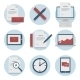 Set of web icons for business flat design, finance - GraphicRiver Item for Sale