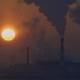 Sunset and the Smoking Thermoelectric Power Plant - VideoHive Item for Sale