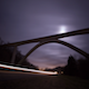 Midnight Bridge Night Sky - VideoHive Item for Sale