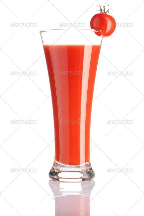 Tomato juice - Stock Photo - Images