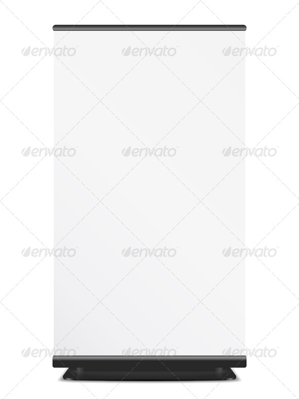 Roll Up Banner - Business Conceptual