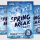 Spring Break Party Flyer / Poster - 17 - GraphicRiver Item for Sale