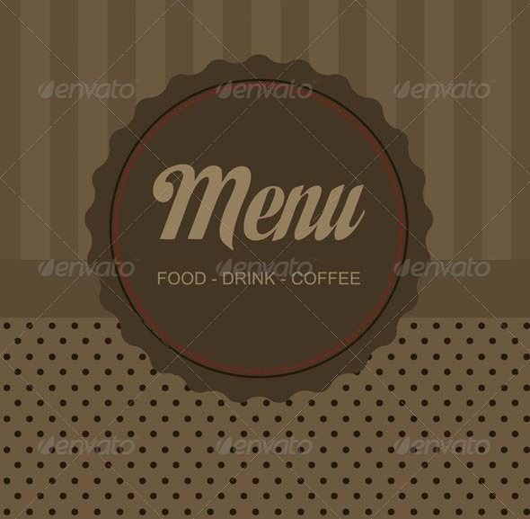Menu - Commercial / Shopping Conceptual