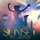 Sunset Flyer Template - GraphicRiver Item for Sale
