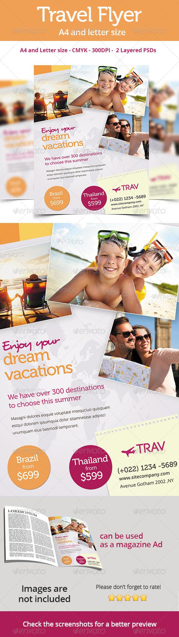 Premium Travel Flyer - Corporate Flyers