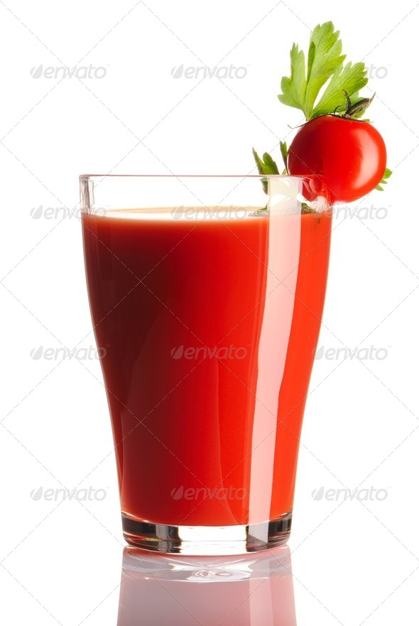 Tomato juice - Stock Photo - Images