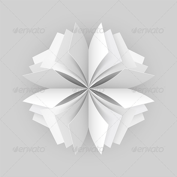 Abstract Paper Figure - Miscellaneous Vectors