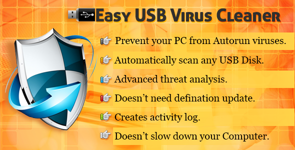 Easy USB Virus Cleaner - CodeCanyon Item for Sale