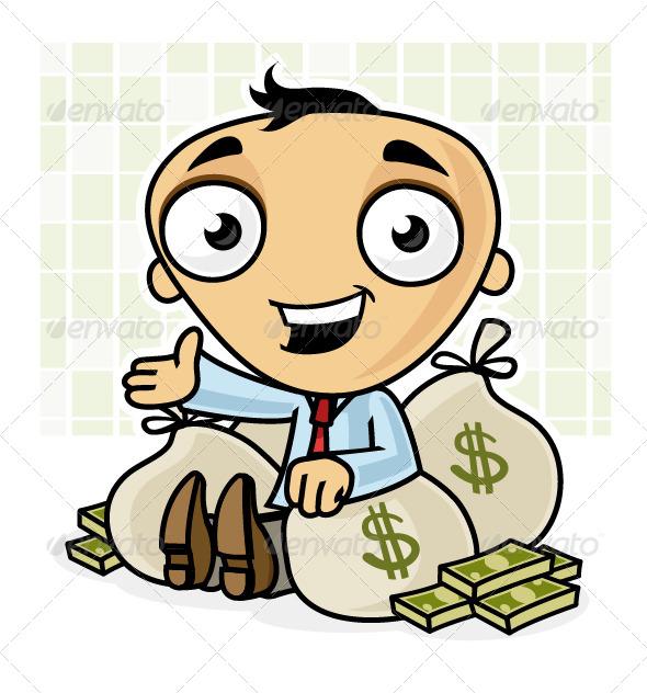 Rich Man - Business Conceptual