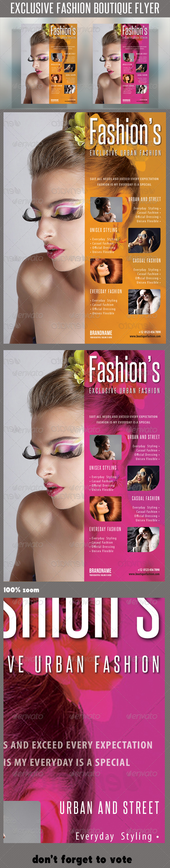Fashion Product Flyer 44 - Events Flyers
