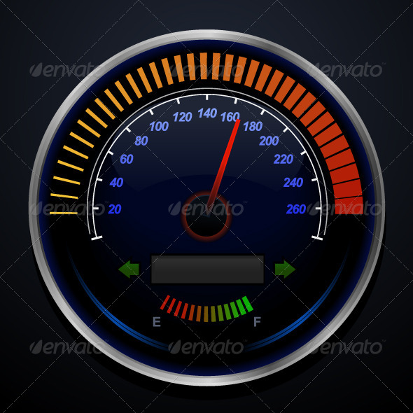Speedometer - Objects Vectors