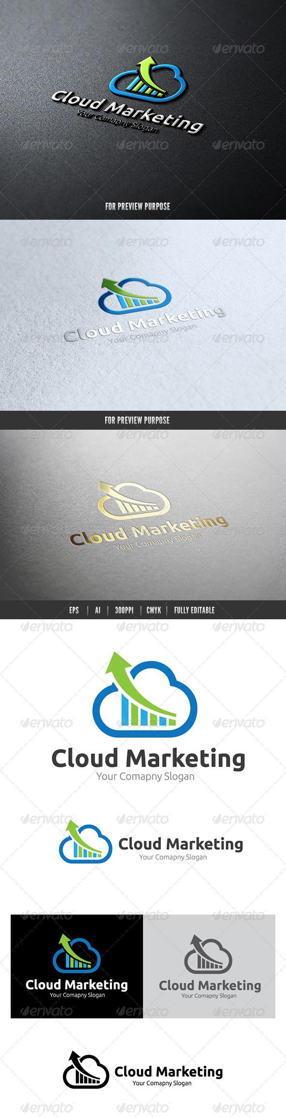Marketing Cloud II - Nature Logo Templates
