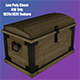 Low Poly Treasure Chest 3D Model - 3DOcean Item for Sale