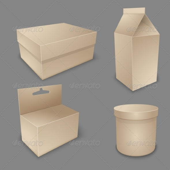 Blank Packing Collection - Retail Commercial / Shopping