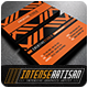 IntenseArtisan Business Card Vol.51 - GraphicRiver Item for Sale