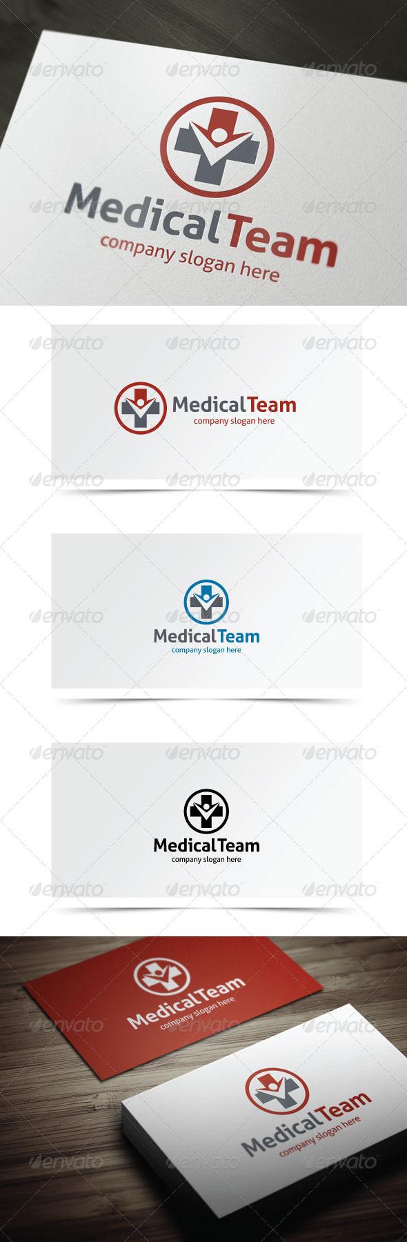 Medical Team - Symbols Logo Templates