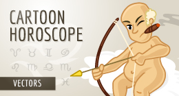 Funny Cartoon Horoscope