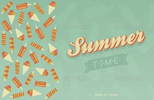 Summer Card - Travel Conceptual