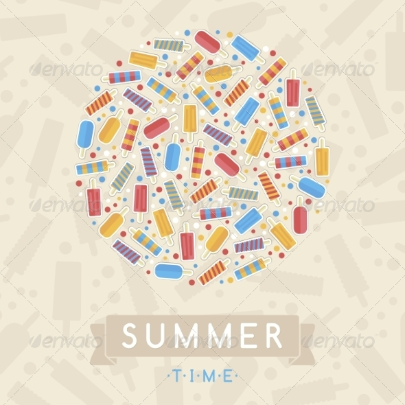 Summer Card - Travel Conceptual