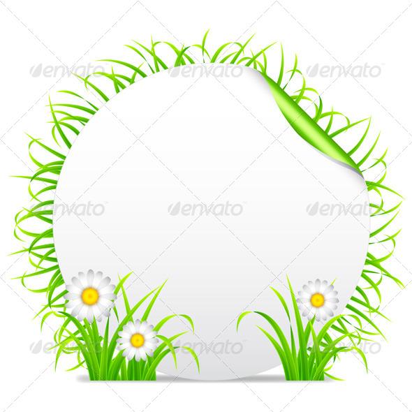 Grass Banner - Flowers & Plants Nature