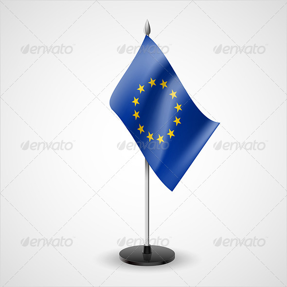 Table Flag of European Union - Miscellaneous Vectors