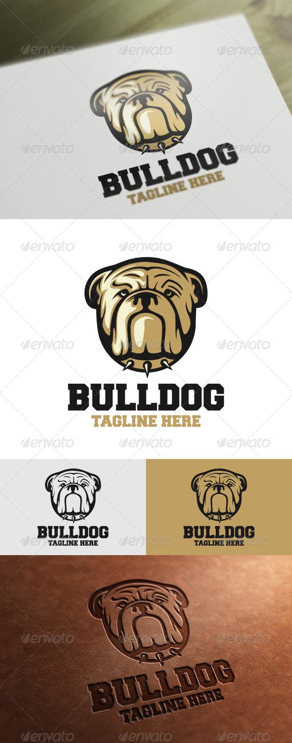 Bulldog Logo Template - Animals Logo Templates