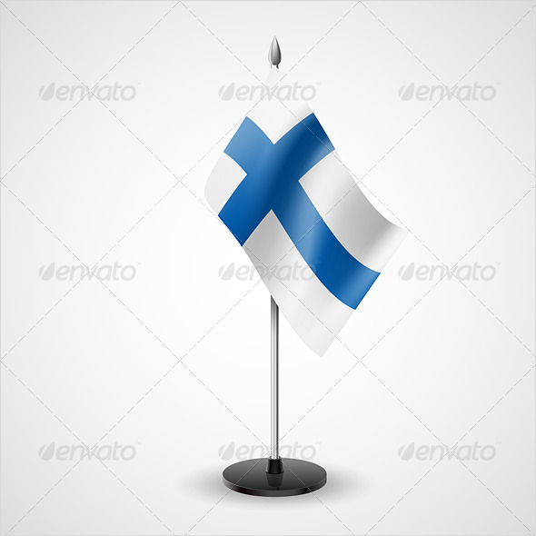 Table Flag of Finland - Miscellaneous Vectors