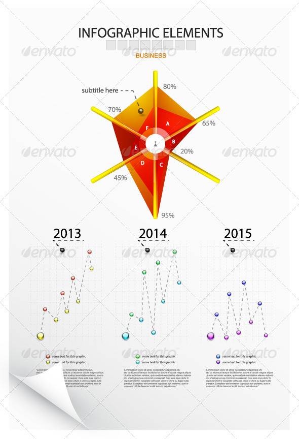 Infographic Design Elements - Infographics