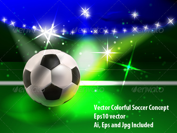 Soccer Spectacle - Sports/Activity Conceptual