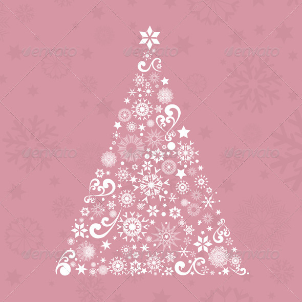 Christmas Tree Background - Christmas Seasons/Holidays