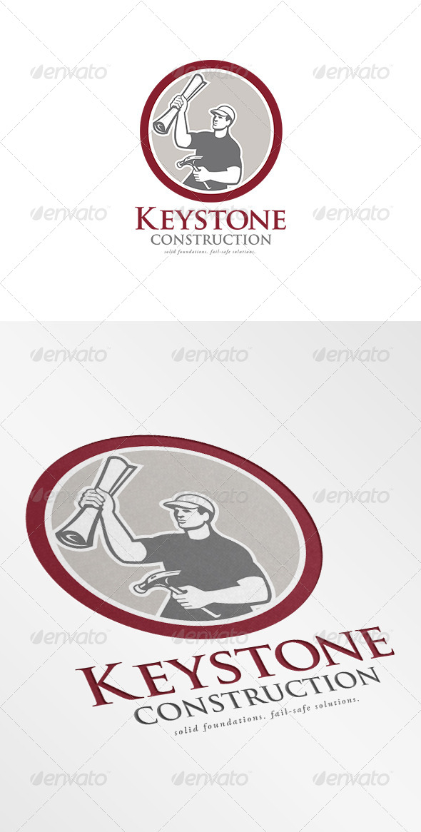 Keystone Construction Logo - Humans Logo Templates