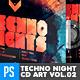 Techno Nights Live Vol.2 CD Album Artwork