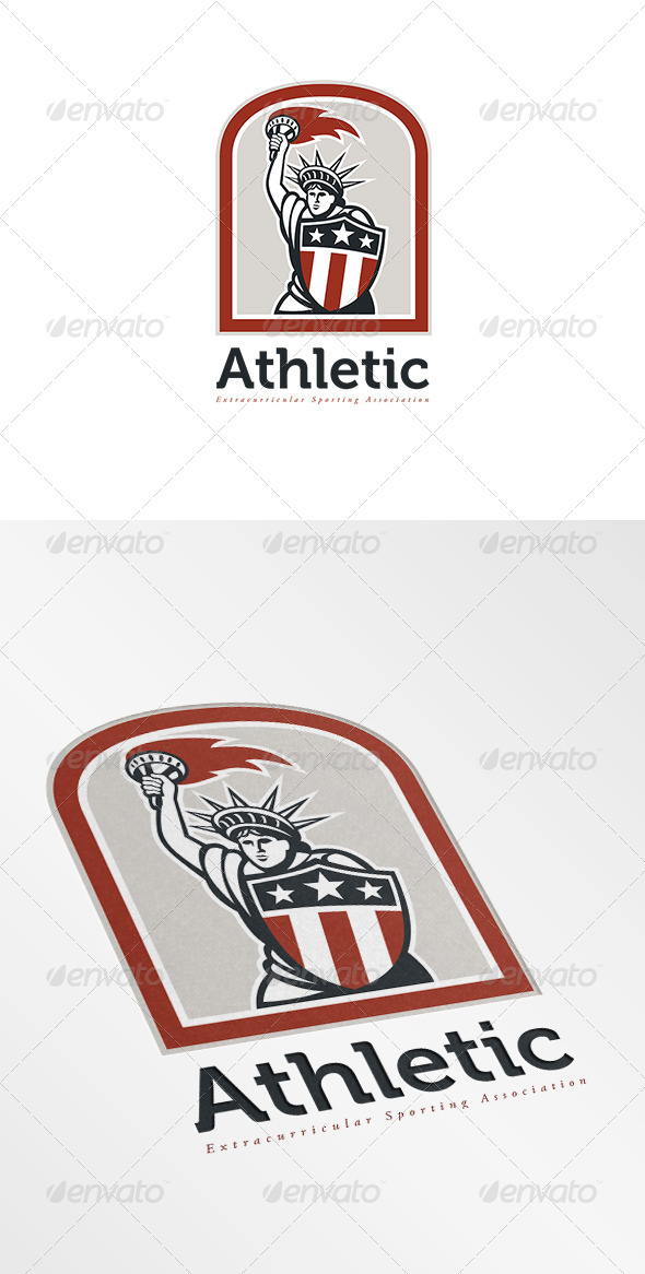 Athletic Sports Logo - Humans Logo Templates
