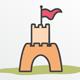 The Castle Logo - GraphicRiver Item for Sale