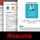 Professional Personal Resume Template - GraphicRiver Item for Sale