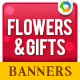 Online Gift Shop Banners - GraphicRiver Item for Sale