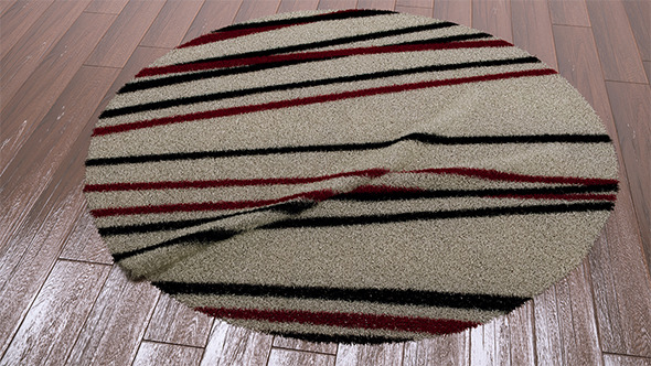 Rugs - 2 (VrayC4D / VrayFur) - 3DOcean Item for Sale