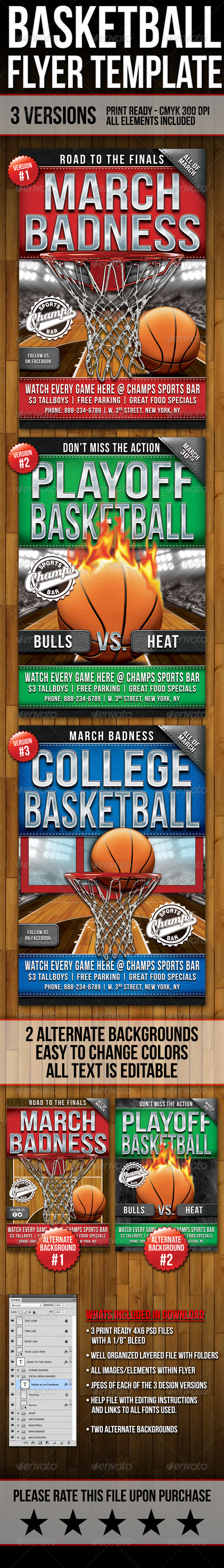 Basketball Flyers - Sports Events