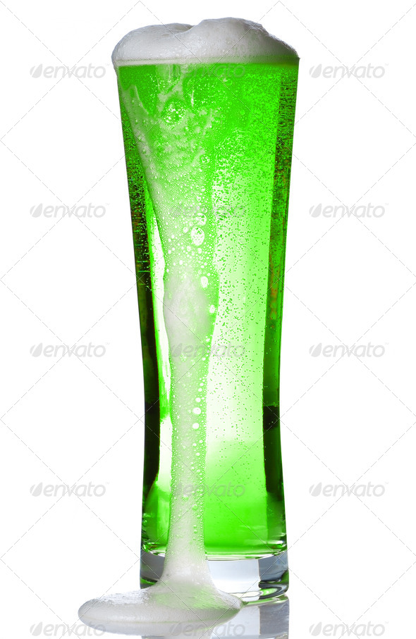 Green Beer - Stock Photo - Images