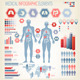 Big Set of Flat Medical Infographic Elements. - GraphicRiver Item for Sale